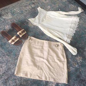 The Limited Linen Skirt